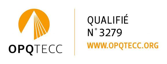 Logo de l'OPQTECC - Qualifié n° 3279